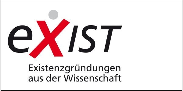 Das Bild zeigt das Logo des Programms Exist
