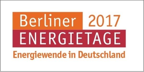 Das Bild zeigt das Logo der Belriner Energietage 2017.