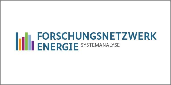Das Bild zeigt das Logo des Forschungsnetzwerks Energiesystemanalyse