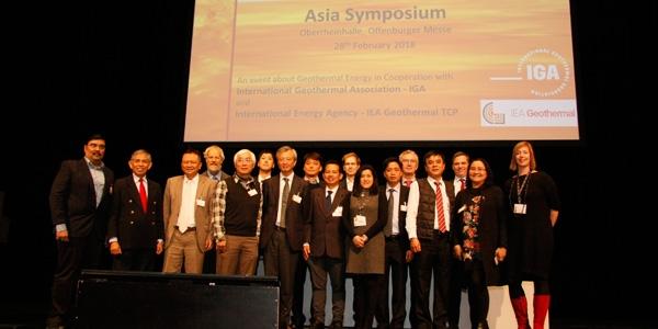 Teilnehmer des Asia Symposiums