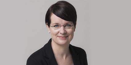 Das Bild zeigt Dr. Stephanie Bauer, neue Leiterin des Projektträgers Jülich.