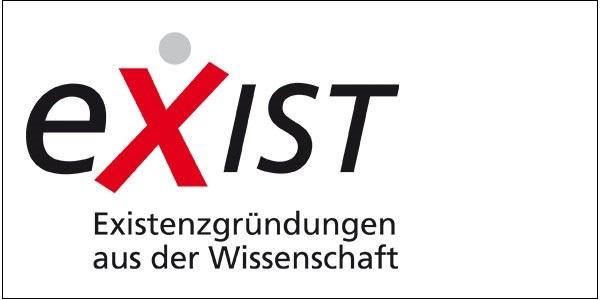 Das Bild zeigt das EXIST-Logo.