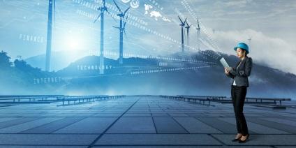 Schmuckbild Digitalisierung der Energiewende