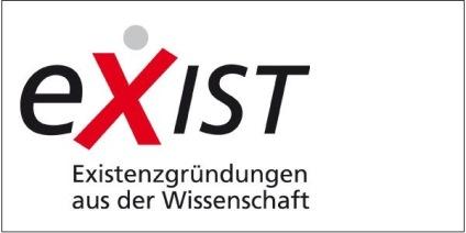 Das Bild zeigt das Logo des Förderprogramms EXIST.