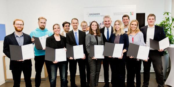 Stipendiaten des Gründerstipendiums NRW