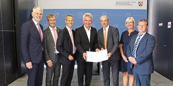 RWTH Aachen erhält 23 Mio. Euro Landesmittel für Aufbau eines von sechs landesweiten Exzellenz Start-up Center.NRW