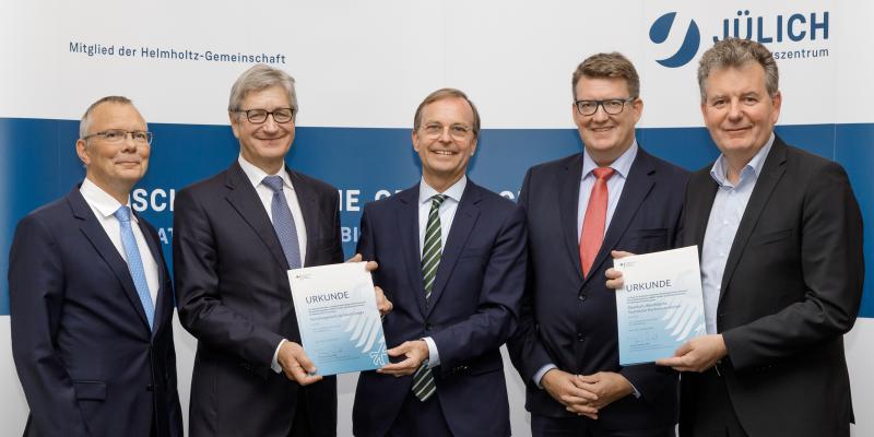 Bild:  Forschungszentrum Jülich/Ralf-Uwe Limbach