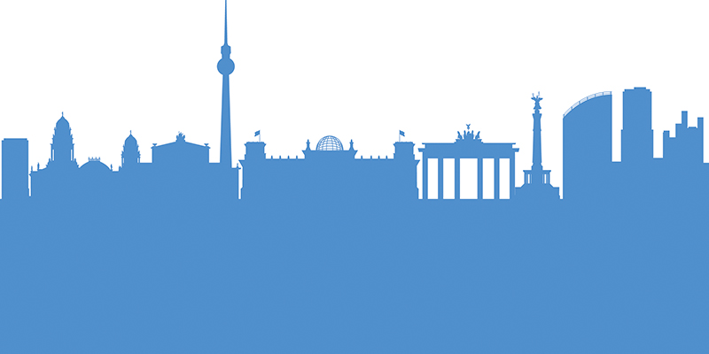 The picture shows the skyline of Berlin.