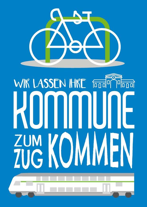 Abbildung Fahrrad und ein Doppelstockwagen