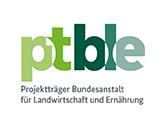 Projektträger Bundesanstalt für Landwirtscahft und Ernährung Logo